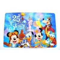 Disneyland Paris 25th Anniversary Placemat