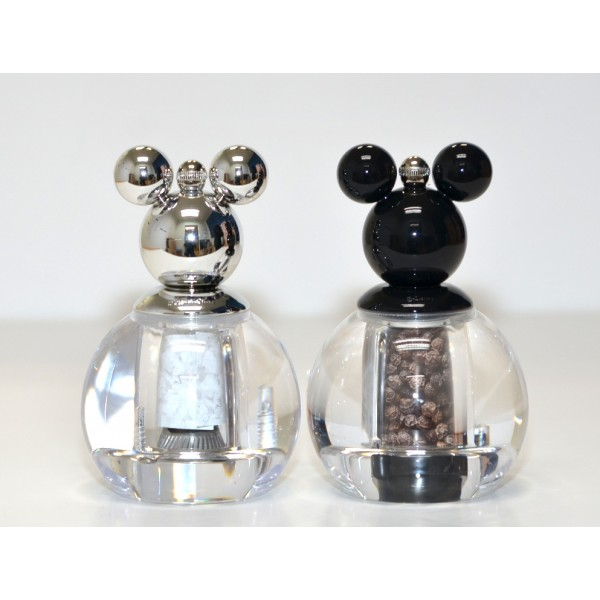 Disney Mickey Mouse Salt and Pepper Mill Set