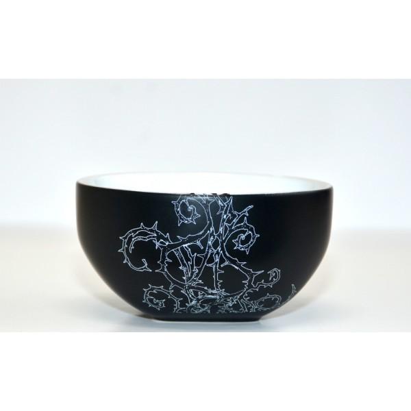 Disney Maleficent Black and White Mug and Bowl Breakfast Set