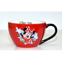 Disneyland Paris Minnie Mouse Burst Bowl with handle