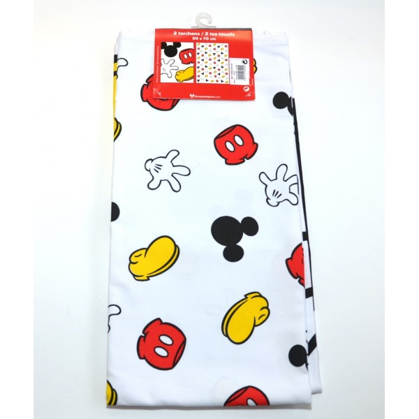 Disney Printed Mickey Mouse Body parts Tea Towel