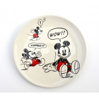 Mickey Mouse Comic Strip Side Plate