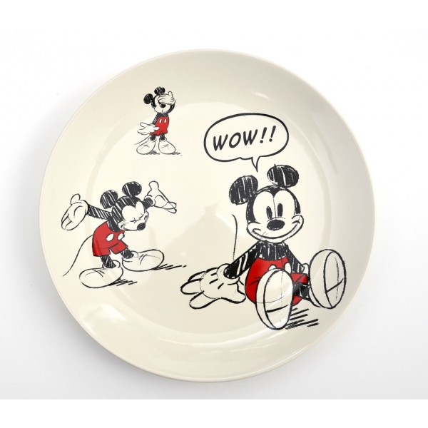 Mickey Mouse Comic Strip Plate