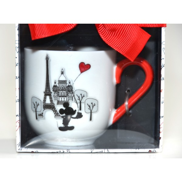 Mickey and Minnie Amour Collection Espresso Cups, Set of 2