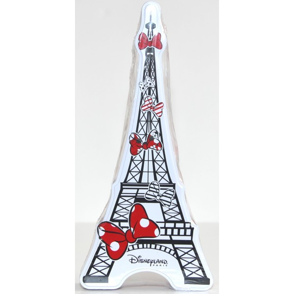 Disneyland Paris Eiffel Tower Minnie flavored candy tin