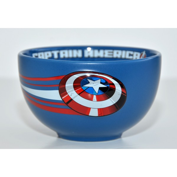Captain America breakfast bowl