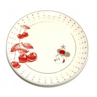 Disney Minnie Mouse red plate
