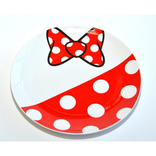 Minnie Mouse Fun Plate, Disneyland Paris