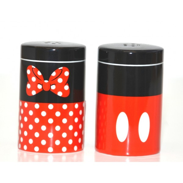 Mickey and Minnie Mouse Salt and Pepper Set