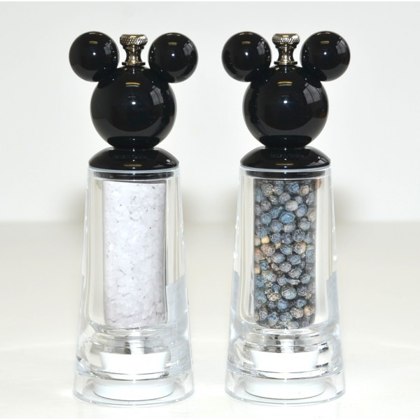 Disney Mickey Mouse Salt and Pepper Mill Set, Disneyland Paris