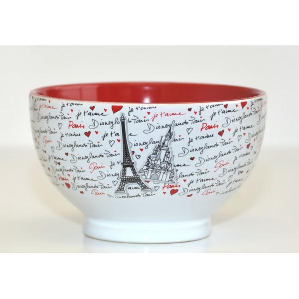 Disney Mickey and Minnie Amour Disneyland Paris bowl