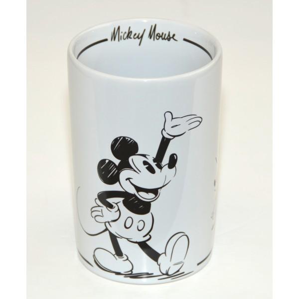 Disneyland Paris Mickey Mouse Comic Black and White utensil holder