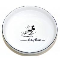 Disneyland Paris Mickey Mouse Comic Black and White pasta plate