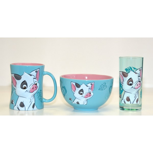 Disney Character Pua Breakfast Set