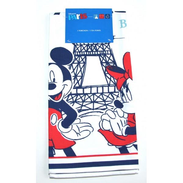 Mickey and MinnieTea Towel, Disneyland Paris
