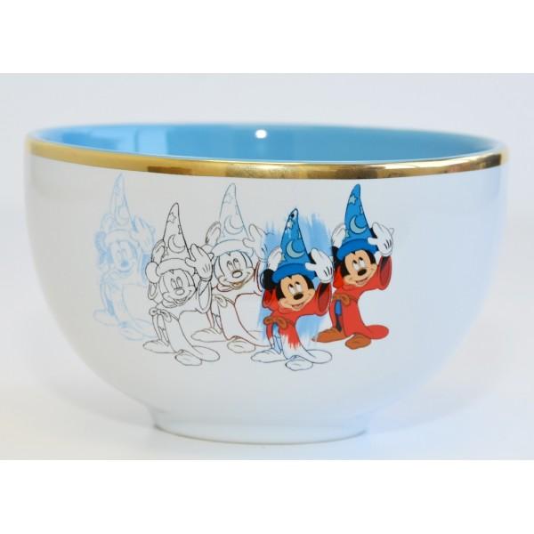 Disney Ink & Paint Mickey Mouse Fantasia bowl, Disneyland Paris