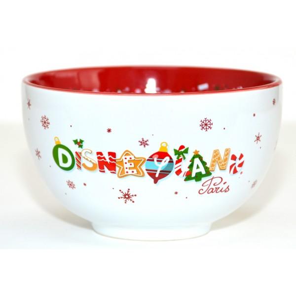 Disney Character Christmas Bowl, Disneyland Paris