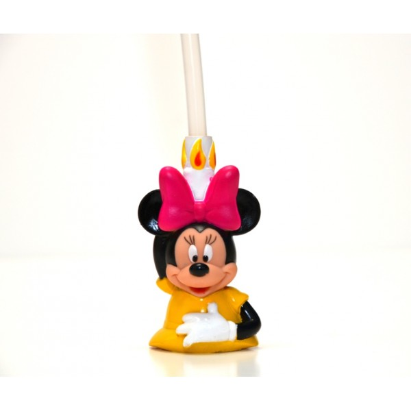 Disney Bottle Cap Straw - Minnie Mouse Birthday