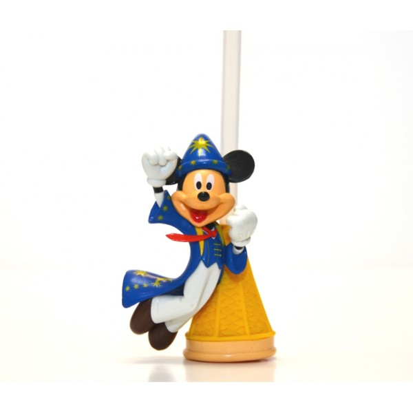 Disney Bottle Cap Straw - Mickey Sorcerer