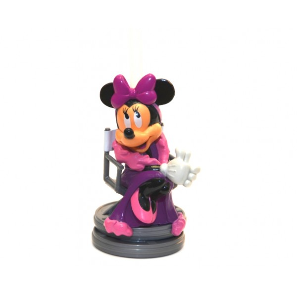 Disney Bottle Cap Straw - Minnie Mouse