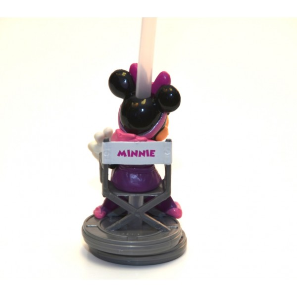 Disney Bottle Cap Straw - Minnie Mouse