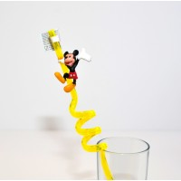 Disney Mickey Mouse Curly Straw