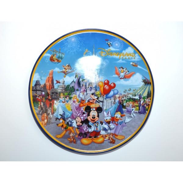 Disneyland Paris Storybook Attractions Plate