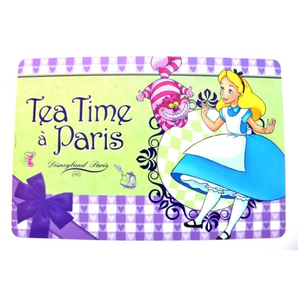 Disneyland Paris Bistro Collection Alice In Wonderland Placemat