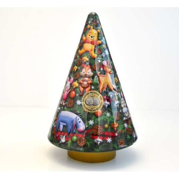 Disney Shortbread Musical Tree Tin