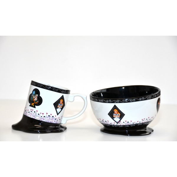 Alice Melted Mug and Bowl Set