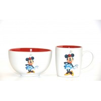 Disney Minnie Mouse Mug and Bowl Set