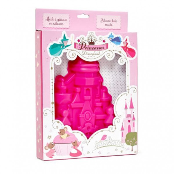 Disneyland Paris Disney Princess Castle Silicone Cake Mould