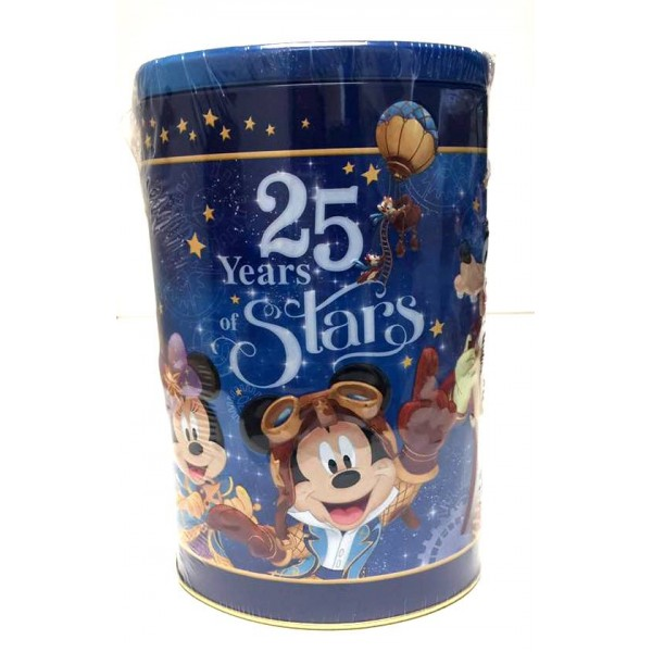 Disneyland Paris 25 Anniversary flavoured candy tin