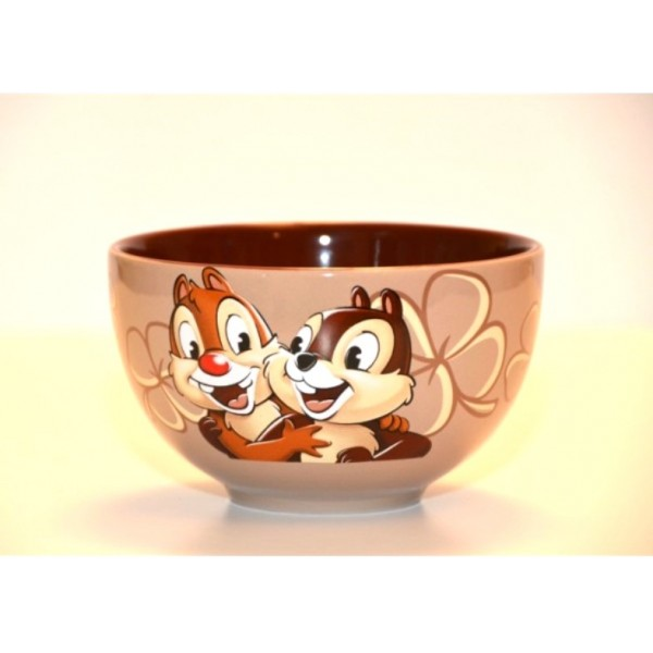 Disney Character Portrait Chip and Dale Breakfast Set