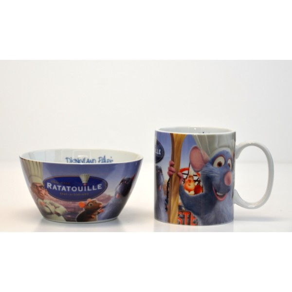 Disneyland Paris Ratatouille Breakfast Set