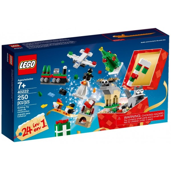 Lego 40222 Christmas Build up 24 in 1 Set