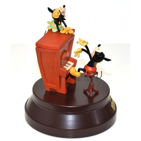 Mickey and Minnie Mouse 90th Anniversary Commemorative Musical Box, Disneyland Paris