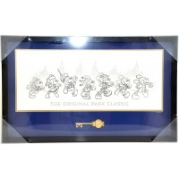 Mickey Mouse 90th Anniversary Key and Frame Limited Edition, Disneyland Paris