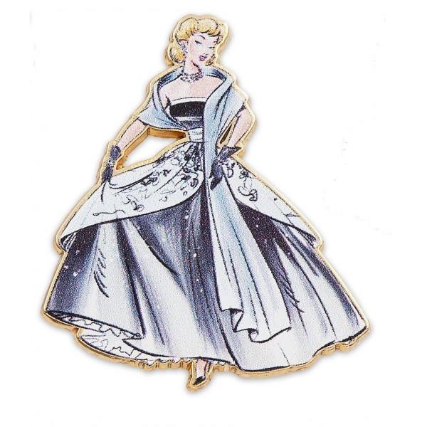 Disney Store Designer Collection Pin Set LE 4800 Snow White Cinderella Ariel