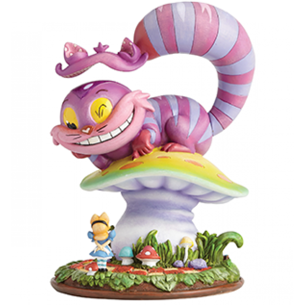 Cheshire Cat & Alice Miss Mindy Figurine
