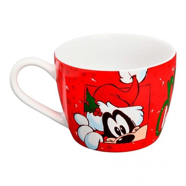 Disneyland Paris Mickey and Friends Christmas Mug Bowl