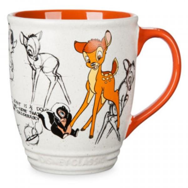 Bambi and Flower Animated Mug