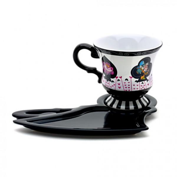 disney coffee cup mad hatter hat. Black Bedroom Furniture Sets. Home Design Ideas
