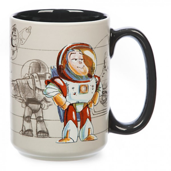 Buzz Lightyear Concept Art Mug, Toy Story