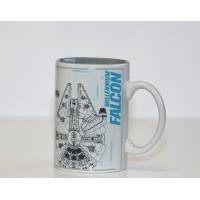 Disneyland Paris Star Wars Millennium Falcon Sketch Mug
