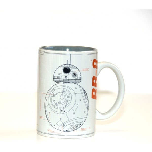 Disneyland Paris Star Wars BB-8 Sketch Mug