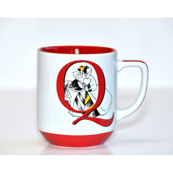Queen of Hearts letter Mug