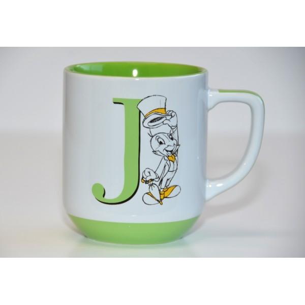 Jiminy Cricket letter Mug
