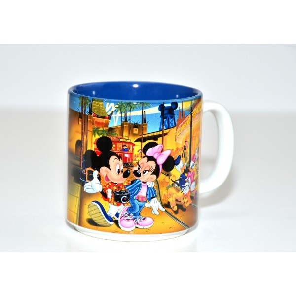 MGM Studios Mickey & Minnie Mouse Coffee Mug Vintage 80's