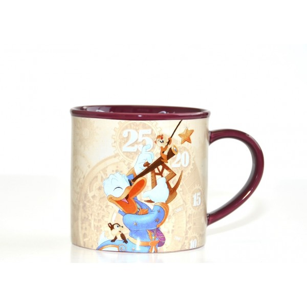 Disneyland Paris Donald Discover the Stars 25th Anniversary Mug
